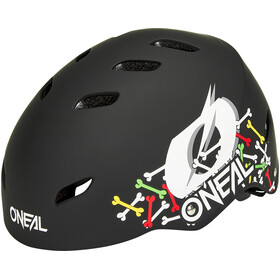 O'Neal Dirt Lid Helmet Youth, skulls-black/multi